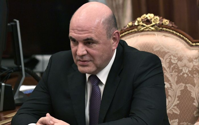 Head of Russian Federal Tax Service Mishustin Accepts PM Post Proposal