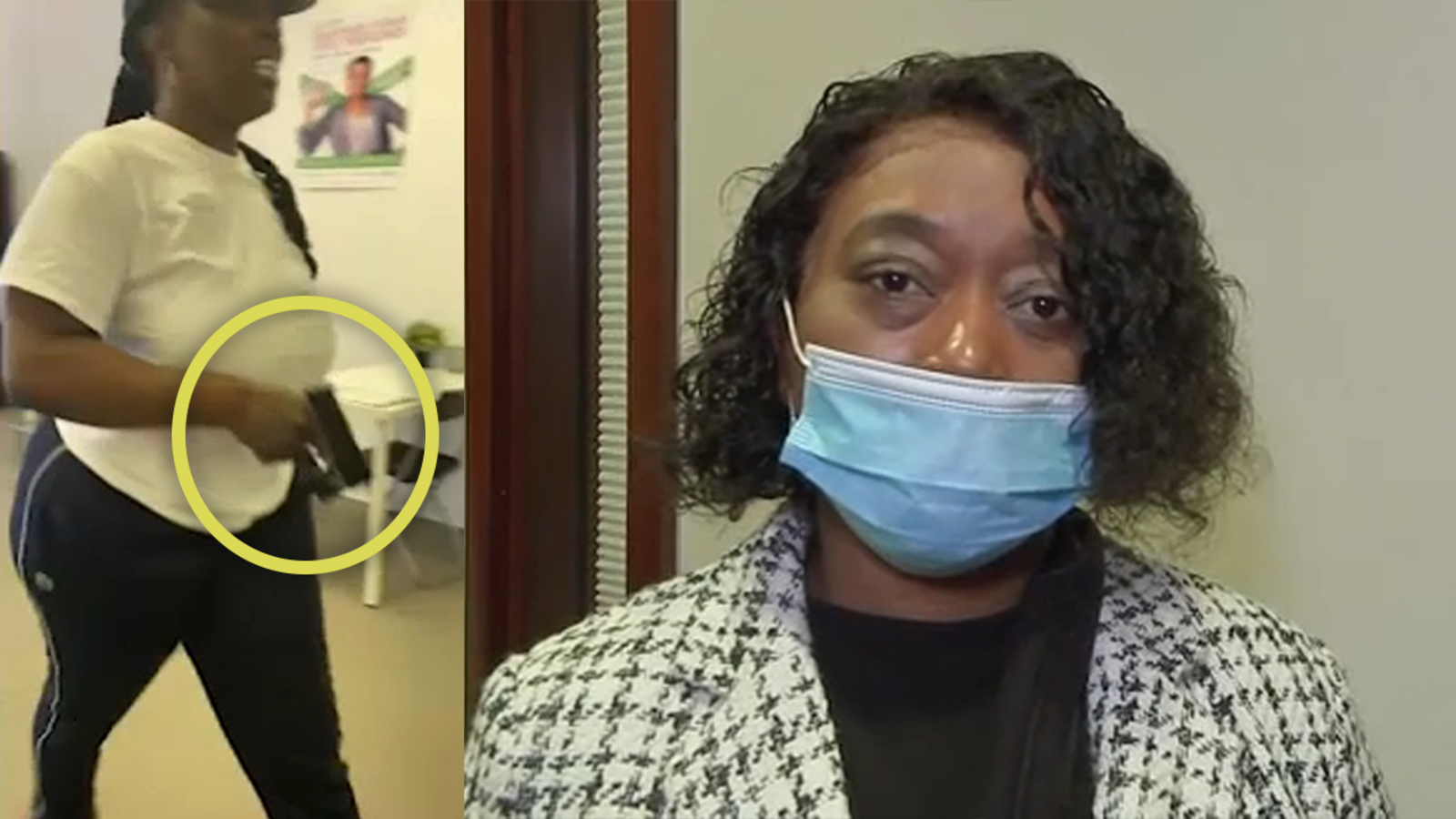 Houston tax preparer Latunya Wright seen pulling out gun says customers were harassing her over refund