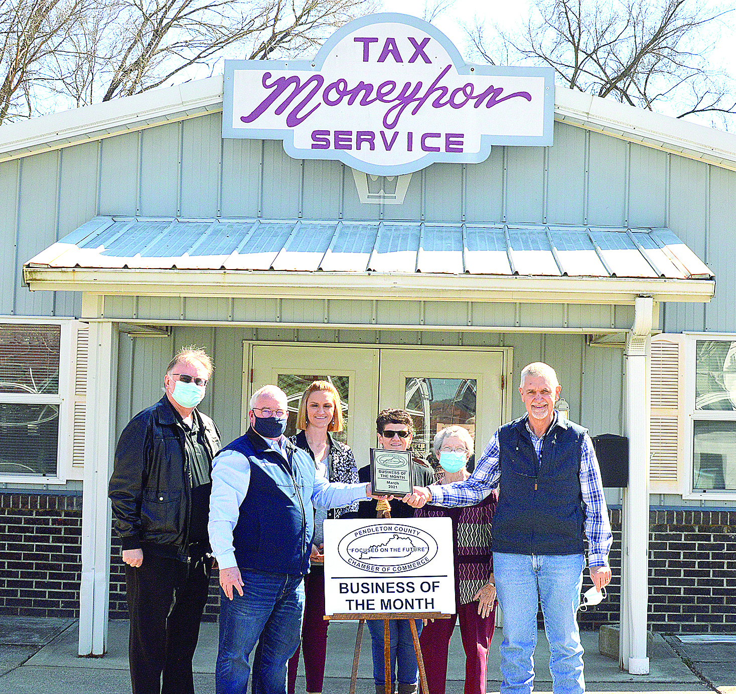 Moneyhon Tax Service chosen as Pendleton County Chamber of Commerce Business of the Month