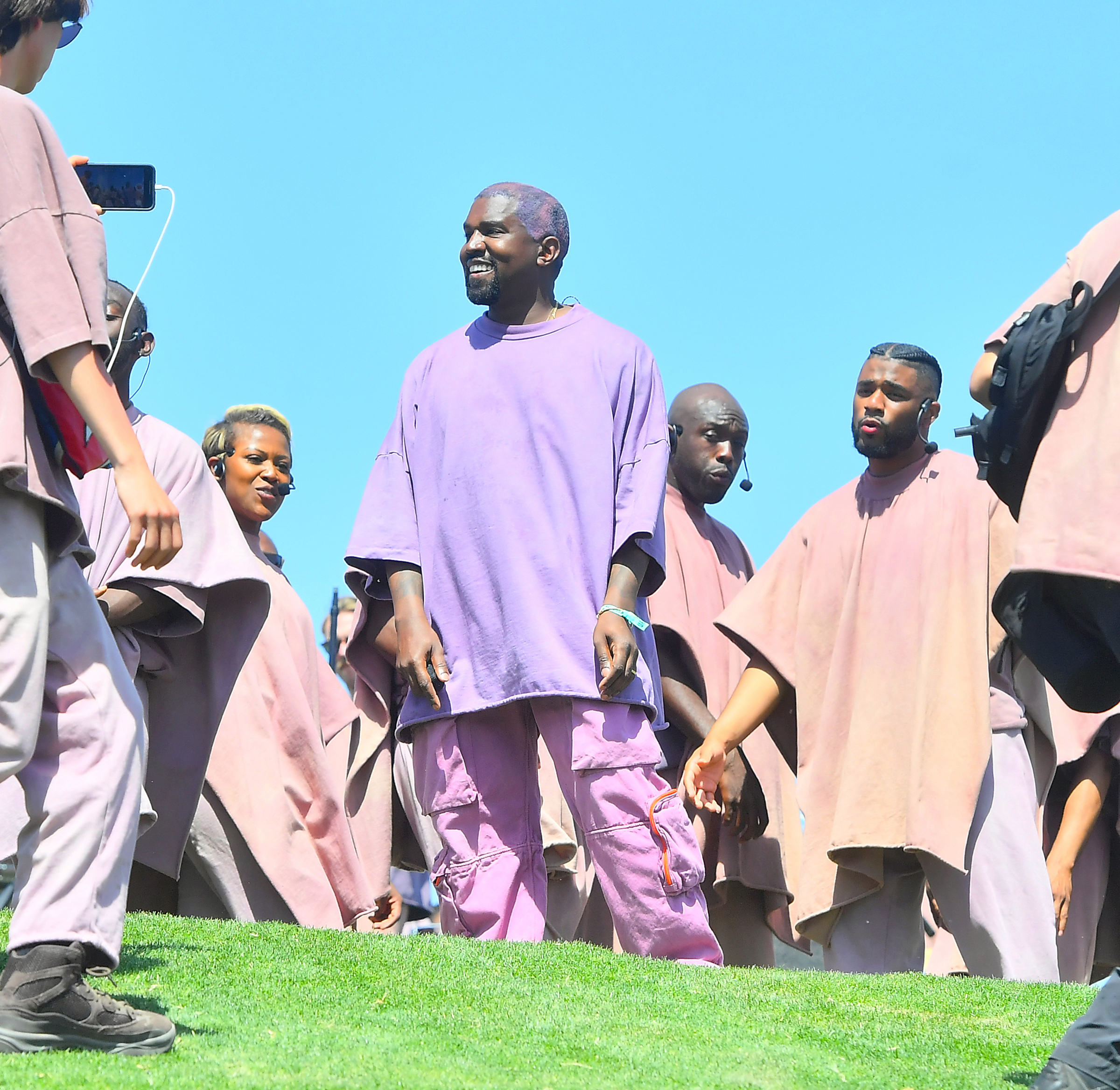 Kanye is yet to comment on a number of lawsuits relating to Sunday Service