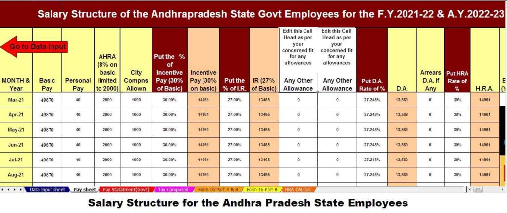 https://taxexcel.in/Salary Structure of the Andhra Pradesh State Employees