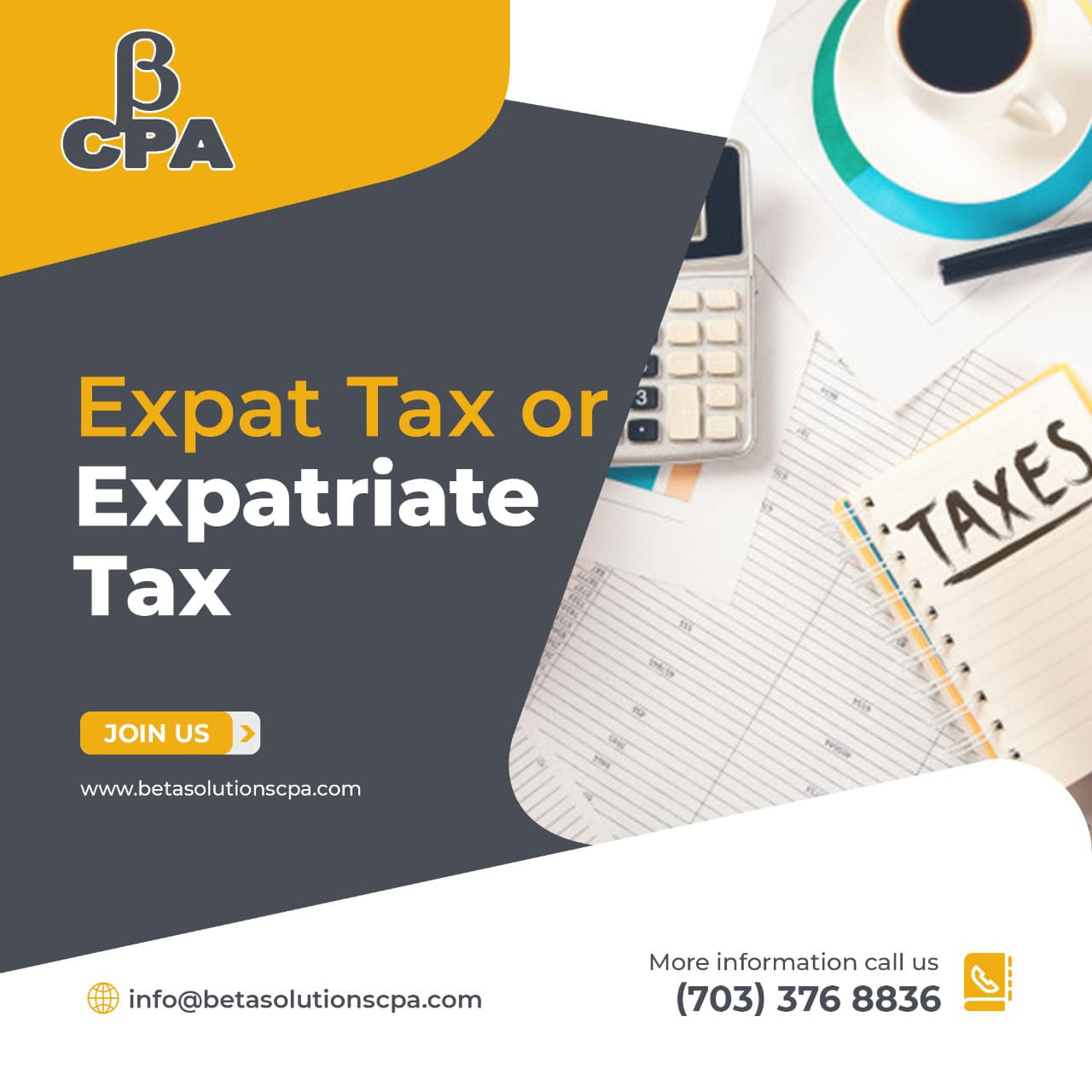 Tax Preparation Services in Tysons   Expatriate Tax