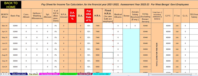 Income Tax Deduction under chapter VI A