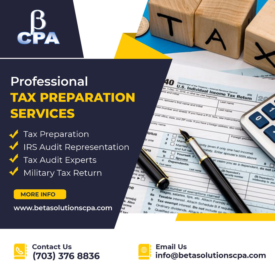 Tax Preparation Services in Tysons   Best Tax Accountant in Herndon