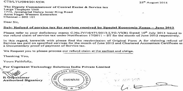 Certificate of existing Statutory Auditor cannot be denied for earlier period